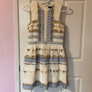 BCBG Maxazria Multi-Colour Mini Dress